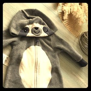 Infants sloth size 3 month onesie